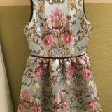 Красивое платье с вышивкой. Фото 1.