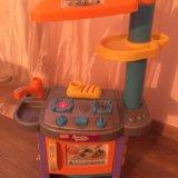 Детская кухня на батарейках. Фото 1.