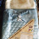 Комплект на выписку,голубой ,абсолютно новый. Фото 3. Новосибирск.