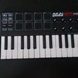 Akai professional mpk mini 25 key. Фото 2. Краснодар.