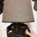 Лампа (есть   вторая). Фото 1.