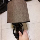 Лампа (есть   вторая). Фото 2.