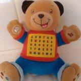 Говорящий медвежонок. развивающая игрушка. Фото 1.