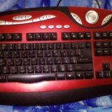 Клавиатура мультимедиа. Фото 1.