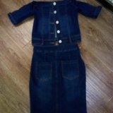 Новый джинсовый костюм. Фото 2.