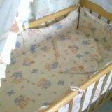 Кроватка +комплект. Фото 2.