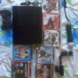 Playstation 3 slim + move. Фото 3.