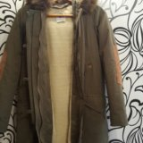 Зимняя куртка(парка)zara. Фото 2.