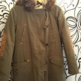 Зимняя куртка(парка)zara. Фото 3. Челябинск.