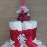 Торт из памперсов. Фото 2.