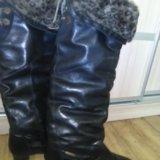 Сапоги зима,батфорты,размер 38;, ц .700 р. Фото 3.