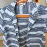 Рубашка на мальчика с коротким рукавом , ращмер s/. Фото 1.