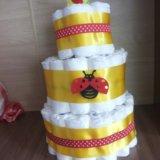 Торт из памперсов. Фото 3. Екатеринбург.