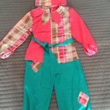 Детский новогодний костюм пётрушки. Фото 1.