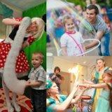 Шоу программы и мыльные пузыри. Фото 2. Москва.