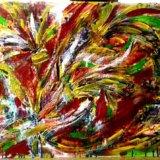"Картина ""танец цветов"" 80×60. Фото 1. Реутов."