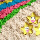Космический песок, магазин. песочница формы песок. Фото 2.