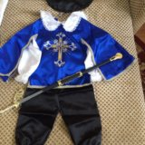 Новогодний костюм мушкетёр. Фото 1. Сургут.