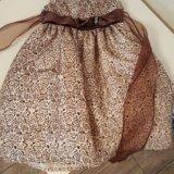 Платье для девочки на праздник. Фото 1. Ожерелье.