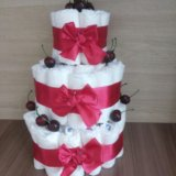 Торт из памперсов. Фото 4.