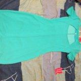 Бирюзовое платье. Фото 1.