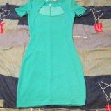 Бирюзовое платье. Фото 2.