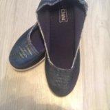 Джинсовые ботинки новые!. Фото 2. Железнодорожный.