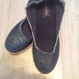 Джинсовые ботинки новые!. Фото 1. Железнодорожный.
