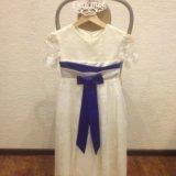 Новое детское платье. Фото 1.