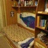 Детская кровать с орт. матрасом и шкафом(есть сини. Фото 1.