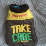 Зимняя одежда для собаки(жилет). Фото 1.