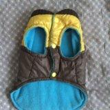 Зимняя одежда для собаки(жилет). Фото 2.