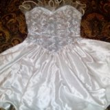 Платье с корсетом. Фото 1.
