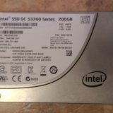 Intel ssd s3700 200gb. Фото 1.