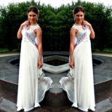 Вечерне-свадебное платье. Фото 2. Брянск.