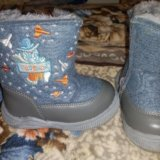 Детские зимние ботинки. Фото 1. Новосибирск.