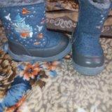 Детские зимние ботинки. Фото 3. Новосибирск.