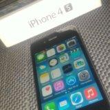 Iphone 4s 16gb black. Фото 1. Таганрог.