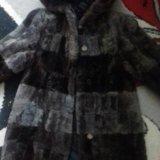 Шуба мутон для девочки рост 116 см. Фото 2. Курск.