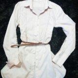 Удлинённая блуза. Фото 1.