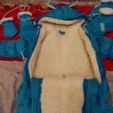 Зимний трансформер на овчине с рождения. Фото 3.