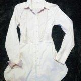 Удлинённая блуза. Фото 2.