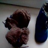 Зимние сапожки 21 раз на 7-10 месецев. Фото 1. Муромцево.
