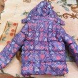 Утепленная куртка для девочки. Фото 1.