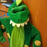 Новогодний костюм 92.98см крокодил динозавр. Фото 2. Санкт-Петербург.