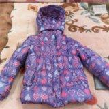 Утепленная куртка для девочки. Фото 4.