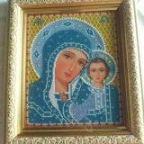 Икона вышитая бисером. Фото 1. Краснодар.