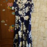 Платье атласное длинное 50.52. Фото 3.