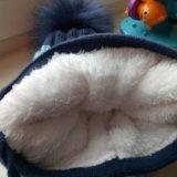 Новая зимняя шапка 3-5л. Фото 3.