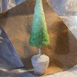 Ледяная елка. Фото 1. Пенза.
